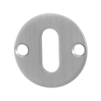 Keyhole escutcheon GPF0901.07 38x2mm satin stainless steel