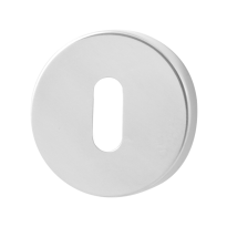 Keyhole escutcheon GPF0901.45 50x6mm polished stainless steel