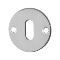 Keyhole escutcheon GPF0901.46 50x2mm polished stainless steel