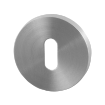 Keyhole escutcheon GPF0901VR 53x6,5mm satin stainless steel