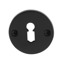 Keyhole escutcheon GPF6901.05 51x4mm wrought iron black