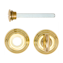 Turn and Release set 651/113RFV unlacquered brass