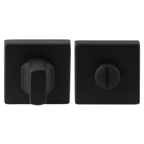 Turn and Release set GPF8910.02 50x50x8mm spindle 8mm black large knob