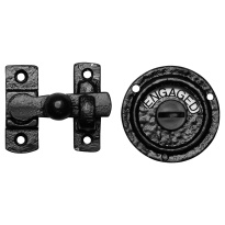 Turn and Release set KP1150 70x65mm wrought iron black