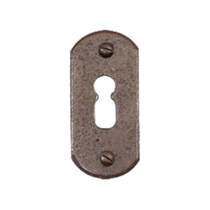 keyhole-escutcheon-fb708-stretta-33x65mm-rust