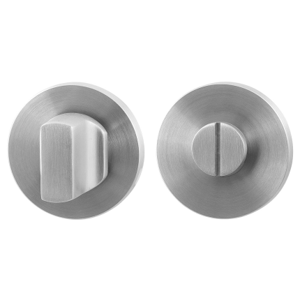 Turn and Release set GPF0910.05 50x6mm spindle 8mm satin stainless steel large knob