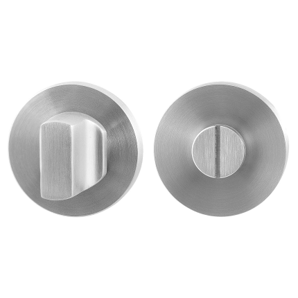 Turn and Release set GPF0911.00 50x8mm spindle 5mm satin stainless steel large knob