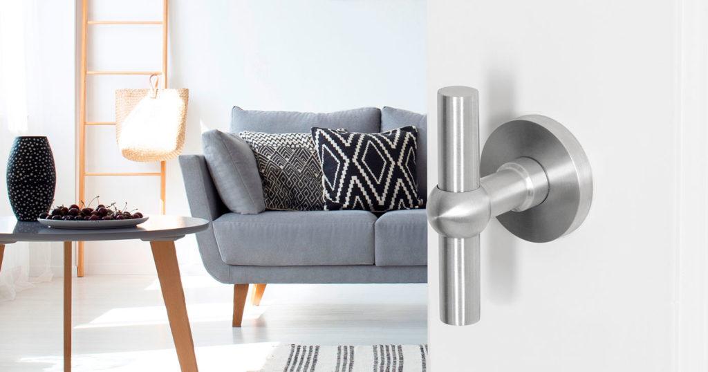 Stainless steel Hipi door handle
